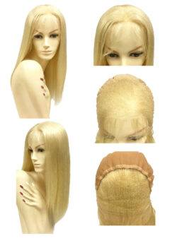 "20"" Straight Lace Wigs - Silky Straight (Blonde-M)"