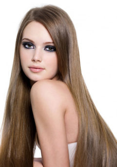 "24""- 26"" Hand-Tied Silky Straight"