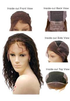 Adjustable EZ Full Lace Wigs Wet and Wavy
