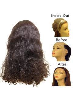 Lace Front Full Cap Wigs French Refined