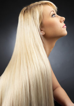 "28"" Bohyme Machine Weft - Silky Straight"