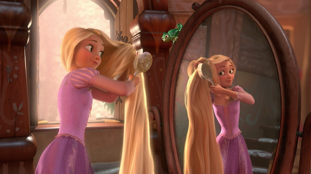 Tangled-Rapunzel-Brushing-Her-Hair